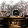 <h3>Le bureau de Tiago Mendès, le boss (Gilbert Melki)</h3>