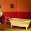 <h3>La salle de bain, du point de vue de la caméra</h3>