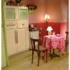 <h3>La cuisine, vue du salon</h3>
