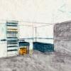 <h3>Concours Gaz de France, exercice autour de l'habitat nomade, Beaux-Arts d'Angers, 2001</h3>