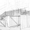 <h3>Perspective – aménagement d'une bibliothèque, Beaux-Arts d'Angers, 2002</h3>