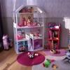 le décor : une chambre de petite fille